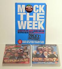 MOCK THE WEEK 2 DVD & BOOK BUNDLE - COMEDY, STAND UP, COMEDIAN