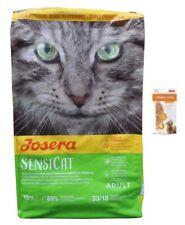 10kg Josera SensiCat Katzenfutter + 85g Frischebeutel