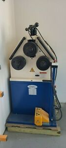 GMC POWER RING and ANGLE ROLL BENDER, HYDRAULIC TOP ROLL POSITIONING, 3HP, 220V/
