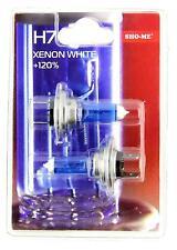 Sho-Me H7 - 2 x BOMBILLA 55W 12V 4300K +120% LUZ BLANCA EFECTO XENON WHITE