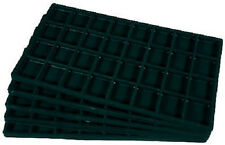 2  Black 32 Compartment Organizer Display Inserts For Jewelry Cases and Trays