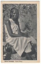 CARTE POSTALE AFRICA ORIENTALE DONA BILENA
