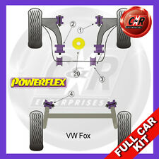 VW Fox Powerflex Complete Bush Kit