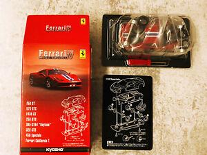 KYOSHO 1:64 - Ferrari Minicar Collection - Ferrari 458 ITALIA Rosso (rarità)