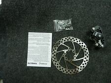 New mechanical disc brake 6 bolt 160 mm rotor and caliper and bolts and pads RR