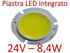 Barra piastra LED COB 24V - 8,4w lampada faretto g4 lampadina camper barche air