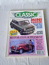 CLASSIC AND SPORTSCAR MAGAZINE NOVEMBER 1992 MINI COOPER/ RESTORATION SUPPLEMENT