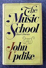 1966 THE MUSIC SCHOOL Short Stories JOHN UPDIKE First Edition LITERATURE 1st