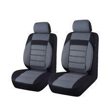 NEW ARRIVAL Universal fit for vehicles gray car suv truck 2 front car seat cover