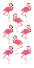Scrapbooking Crafts Stickers Paper House Flamingos Pink Repeats Flamingo Slim