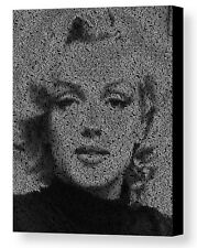 Marilyn Monroe Quotes Mosaic AMAZING Framed 9X11 Limited Edition Art w/COA
