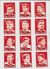 Panini Euro 2016 / EM 16 * Komplett-Set Coca Cola Sticker * ungeklebt