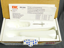 "KWC Faucets KWCFIT Wall Sprout White K269002 6"" 3/4"" NPT Made in Switzerland"