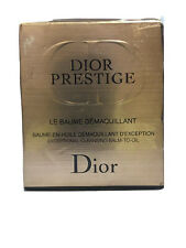DIOR PRESTIGE LE BAUME DEMAQUILLANT EXCEPTIONAL CLEANSING BALM TO OIL 150ML (T)