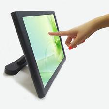 "NEW 15"" POS LCD Touch monitor KASSENMONITOR ED150 VGA DVI 5 Wire screen Kiosk"