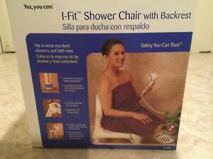 I-Fit Shower Chair with Backrest by Invacare NEW