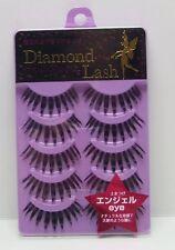 "Diamond Lash False Eyelashes 5 Pairs Lady Glamorous Series ""Angel eye"" Japan"