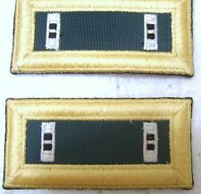 ARMY SHOULDER BOARDS STRAPS SPECIAL FORCES CWO2 PAIR MALE SIZE