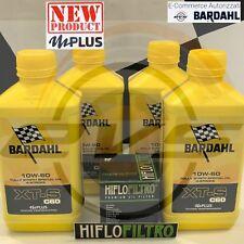 4 LT Olio Moto BARDAHL XT-S XTS C60 10W60 Polarplus Fulleren + HiFlo HF303RC