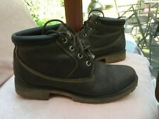 Timberland Lace up Brown Leather Boots Mens UK Size 8