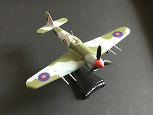 Hawker Typhoon 1:95 Scale Diecast Model Postage Stamp Plane