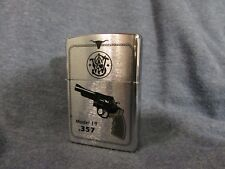 unused ZIPPO Windproof Lighter 1998 - Smith & Wesson model 19  Magnum 357 - .357