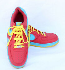 Men's Nike Air Force Shoes Size 11US Red Blue Yellow AF-1 '82 25th Anniversary