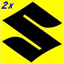 Suzuki S Logo 2.25in 5.7cm decals 400 600 stickers 750 gsxr 1000 rm 1100 z 250