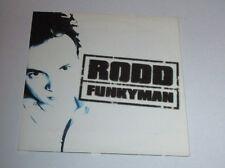Rodd - funkyman - cd single 4 titres 1997
