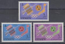 Jemen (Königreich / Yemen) - Michel-Nr. 145-147 A postfrisch/** (ITU)