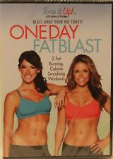 NEW One Day Fat Blast DVD tone it up fitness exercise tone Beach Babe