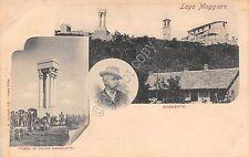 Cartolina - Postcard - Dagnente - Tomba Felice Cavallotti  - Lago Maggiore