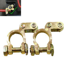 Clip Adjustable Clamps Conductive Caps Car Battery Terminals Motorcycle Copper
