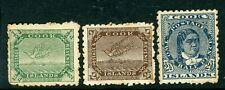 Cook Islands 1902 single NZ star watermark small selection GFU