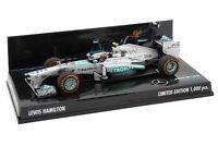 1/43 Minichamps Lewis Hamilton Mercedes AMG Petronas F1 W04 2013 USA GP F1 2018