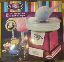 Nostalgia Hard Candy Cotton Candy Maker Machine