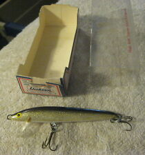 Vintage Dickson Minnow Fishing Lure In Box,611-S,Belco Balsawood made