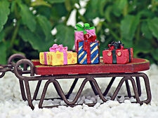 Miniature Christmas Packages ~ Presents ~ Gift Boxes ~  Fairy Garden Miniature ~