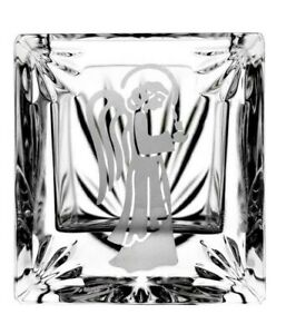 WATERFORD Crystal Religious Angel Votive Candle Holder 1 Piece DISCONTINUED