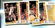 MICHAEL JORDAN 1991 UPPER DECK FINALS INSERT CARD LOT OF 5 DIFFERENT FRENCH