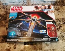 Poe's Boosted X-Wing Fighter STAR WARS The Last Jedi Toys R Us EXCLUSIVE