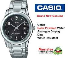 AUSTRALIAN SELLER CASIO MTP-VS01D-1BD SOLAR POWERED WITH DATE 12 MONTH WARRANTY