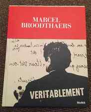 Livre ART RARE Marcel Broodthaers Exhibition Catalogue MOMA NEW YORK 2015