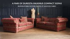 A Pair of Compact Duresta Maximus Sofas to be Reupholstered  £9,272