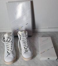 mega rar: Adidas ADICOLOR HI W2 white series 2006 Größe 43 1/3 UK 9 + CANS