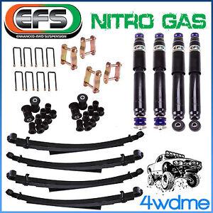 "For Toyota Hilux LN105 RN106 LN106 Diesel EFS 4WD Shock Leaf Spring 2"" 50mm Lift"