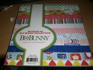 PAPERBLOCK BO BUNNY/36 SHEETS/6X6 INCH/1 SIDE/ NEW (B)