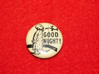 VINTAGE PINBACK BUTTON HASSAN CIGARETTES FISHER MUTT & JEFF GOOD NIGHT