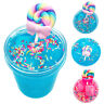 60/120ml Crystal Lollipop Slime Clay Mud Kids Stress Relief Sludge Toy non-toxic