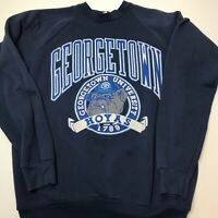 Vintage Georgetown University Hoyas Crewneck Sweater 80s 90s NCAA GU